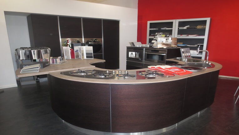 Oferta cocina exposici n modelo samal wenge de la marca for Cocinas completas con electrodomesticos