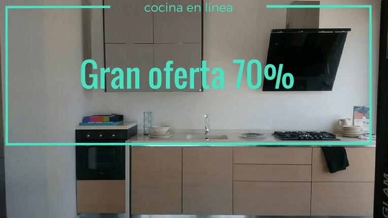 Oferta expo modelo VISION de GATTO CUCINE | Studio Gatto Cocinas