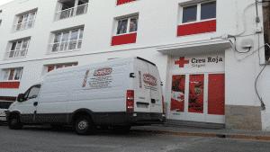 Colaboración con Creu Roja de Sitges