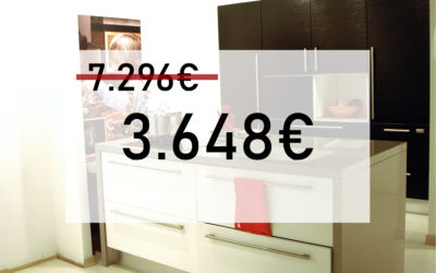 OUTLET COCINA GATTO MODELO SAMAL FRESNO BLACK & WHITE