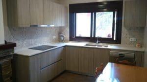Proyecto de cocina en casa de Montse en el Vendrell